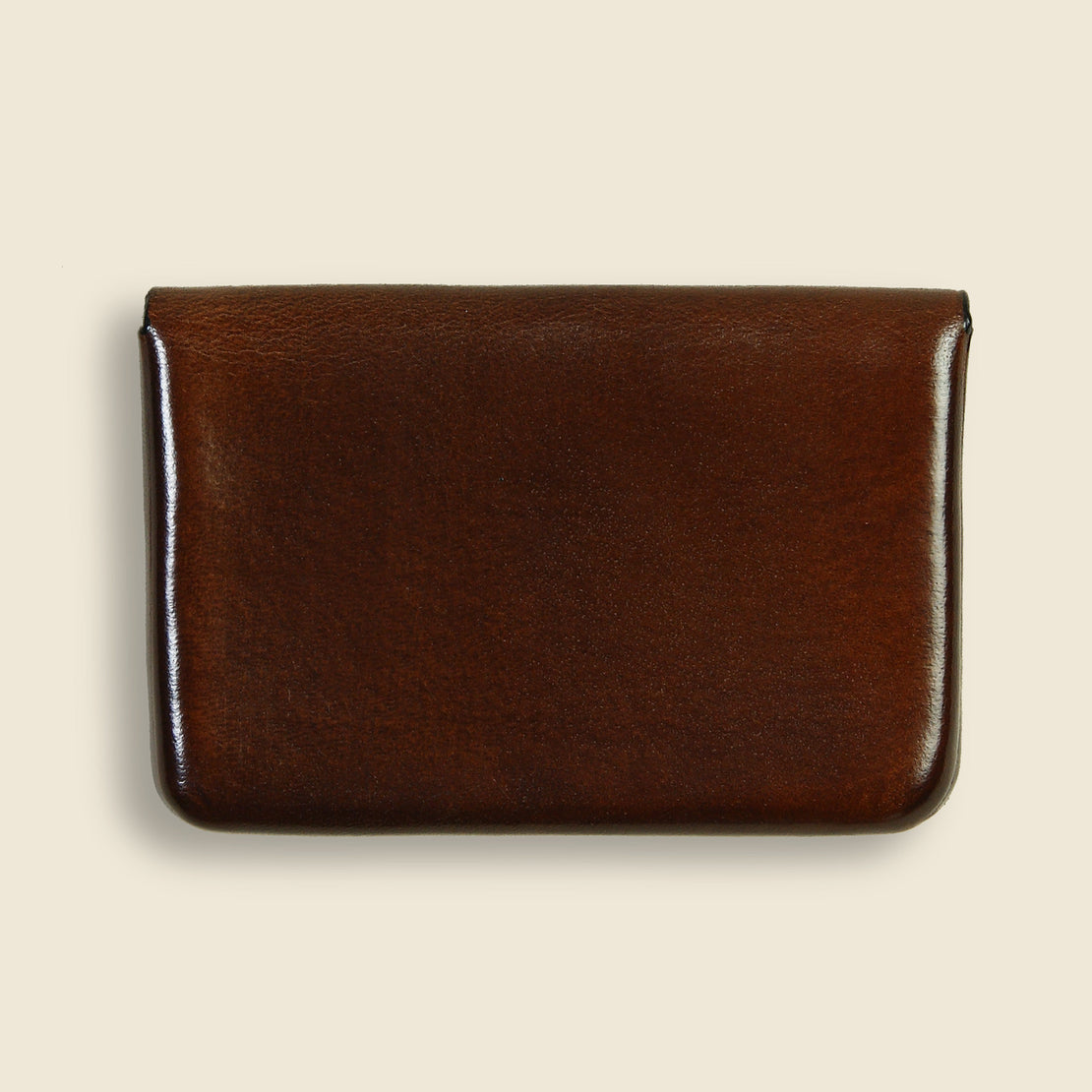 Business Card Holder - Dark Brown - Il Bussetto - STAG Provisions - Accessories - Wallets
