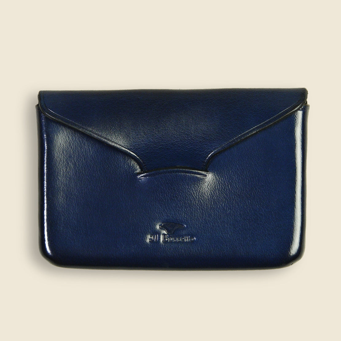 Il Bussetto Business Card Holder - Navy