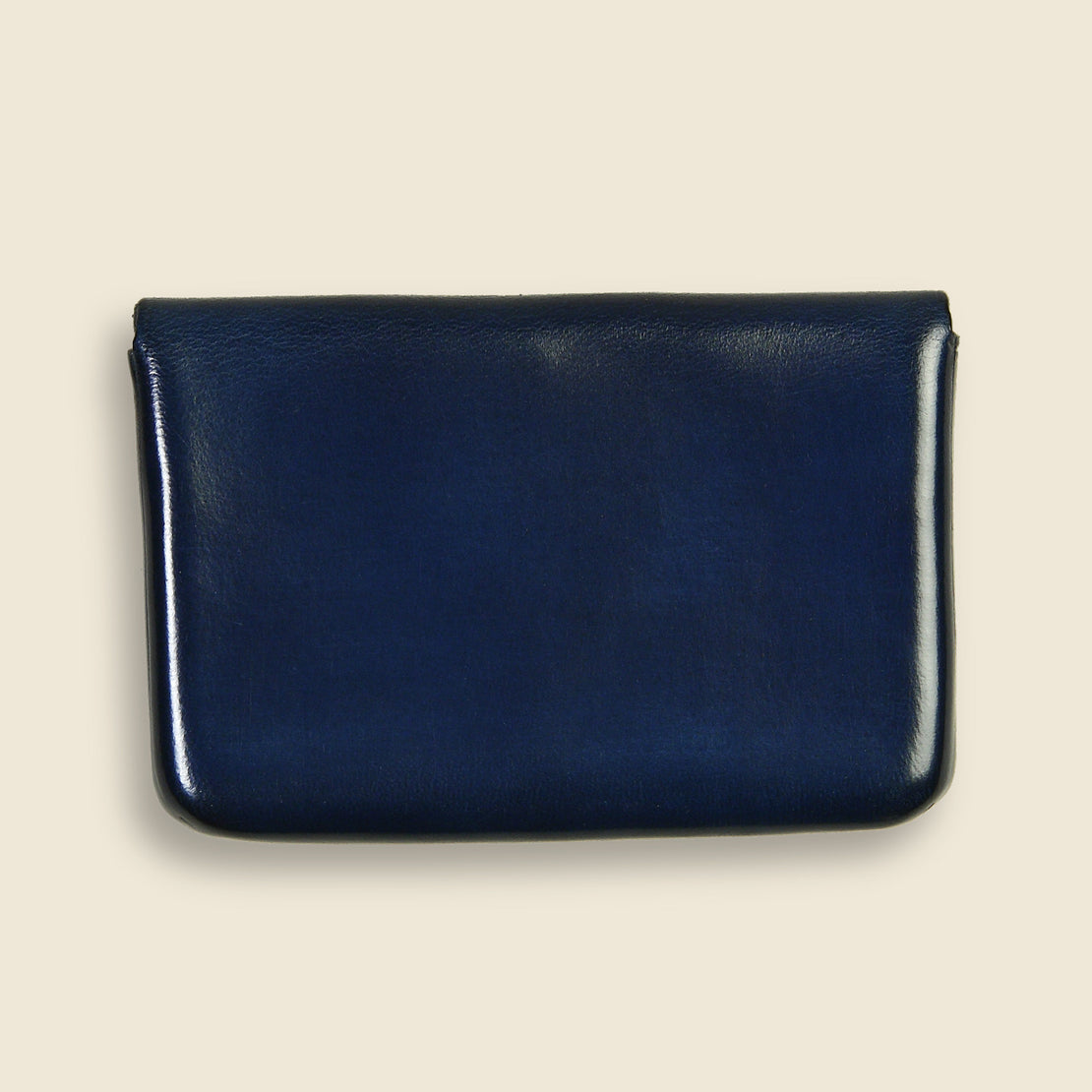 Business Card Holder - Navy - Il Bussetto - STAG Provisions - Accessories - Wallets