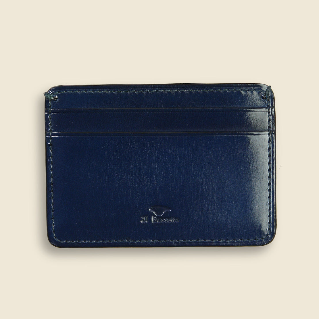 Il Bussetto Credit Card Case - Navy
