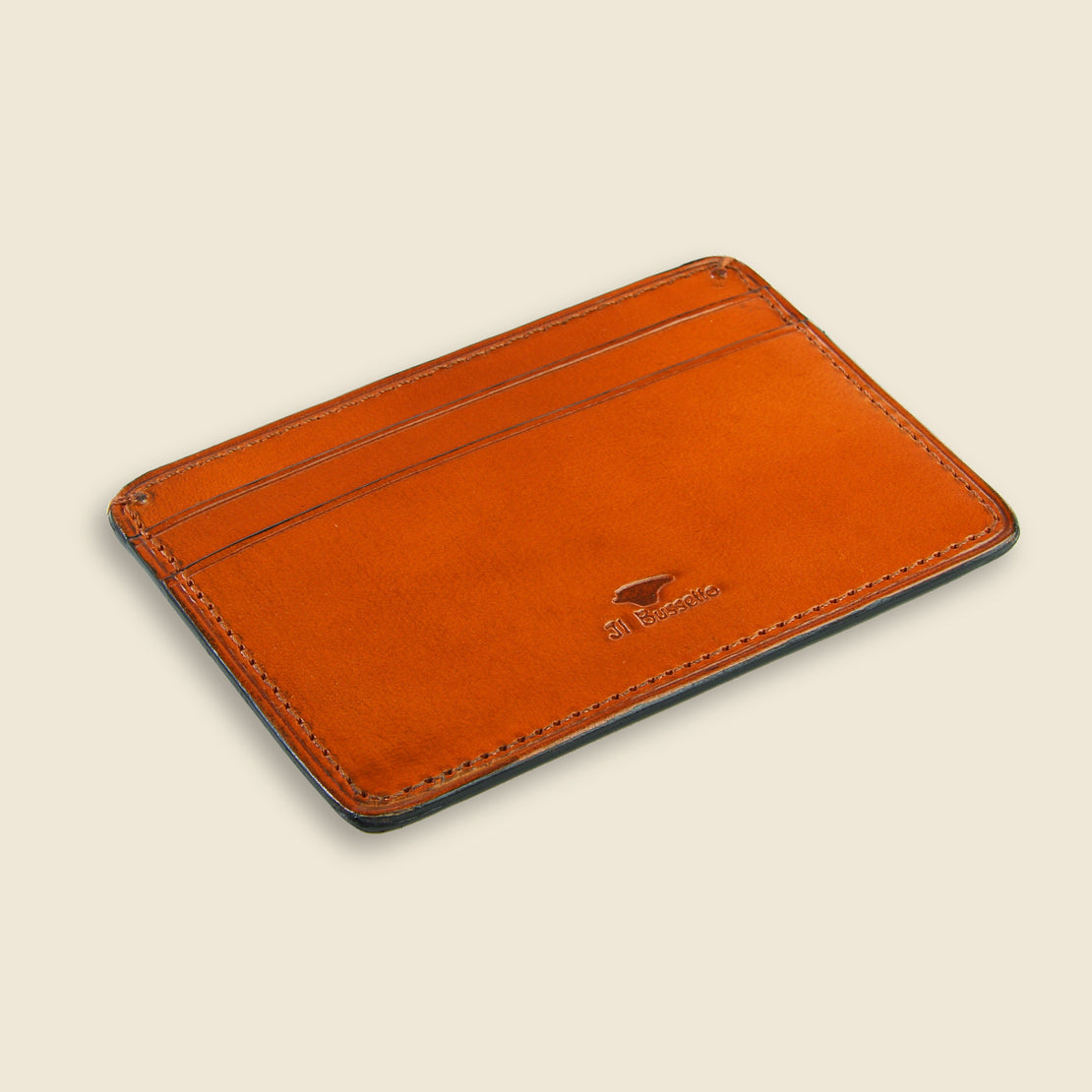 Credit Card Case - Orange - Il Bussetto - STAG Provisions - Accessories - Wallets