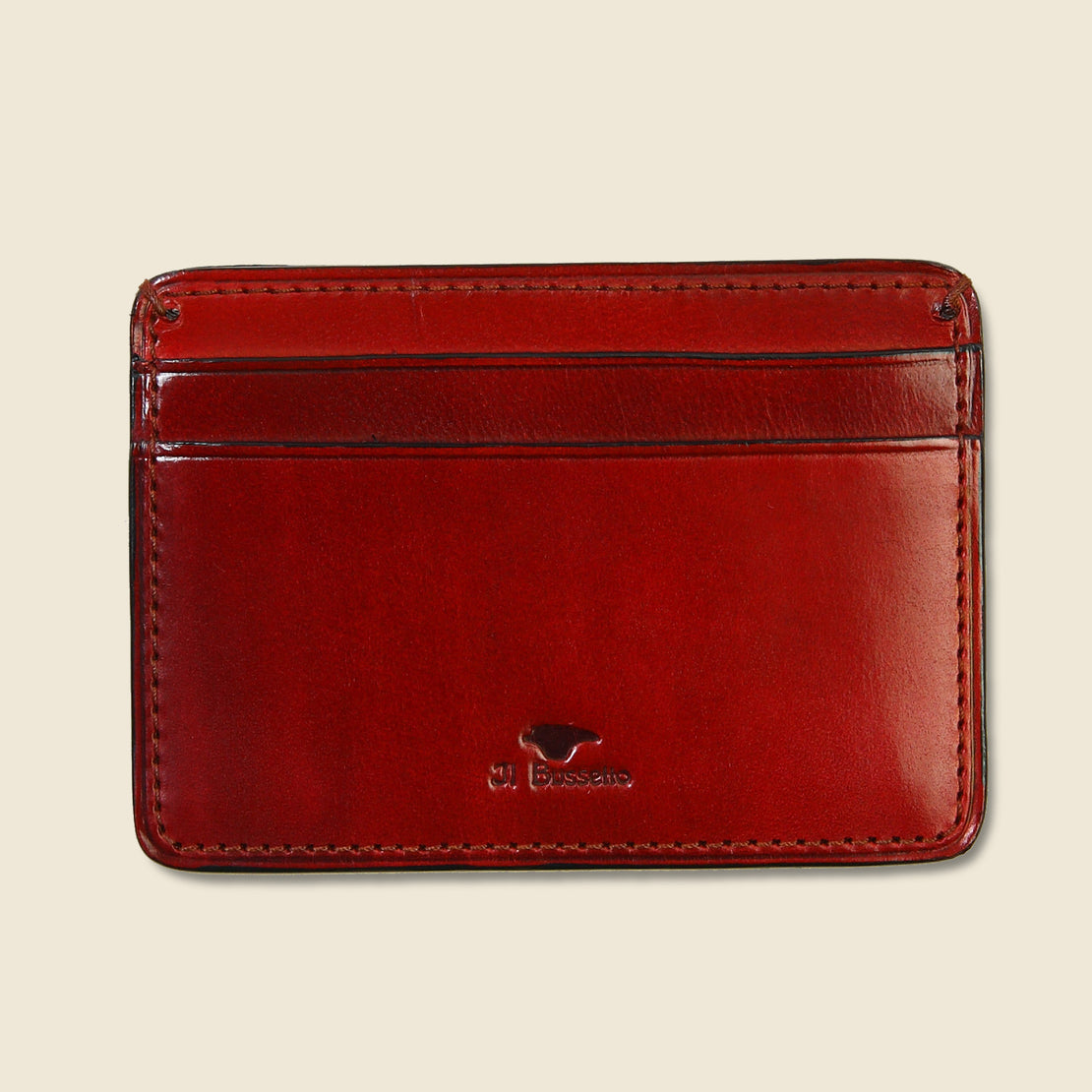 Il Bussetto Credit Card Case - Cherry