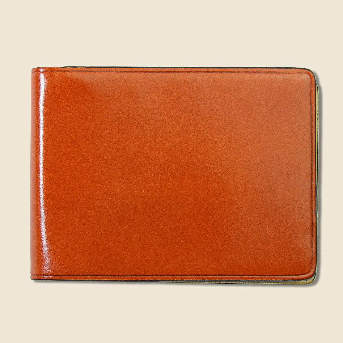 Il Bussetto Small Bi-Fold Wallet - Orange