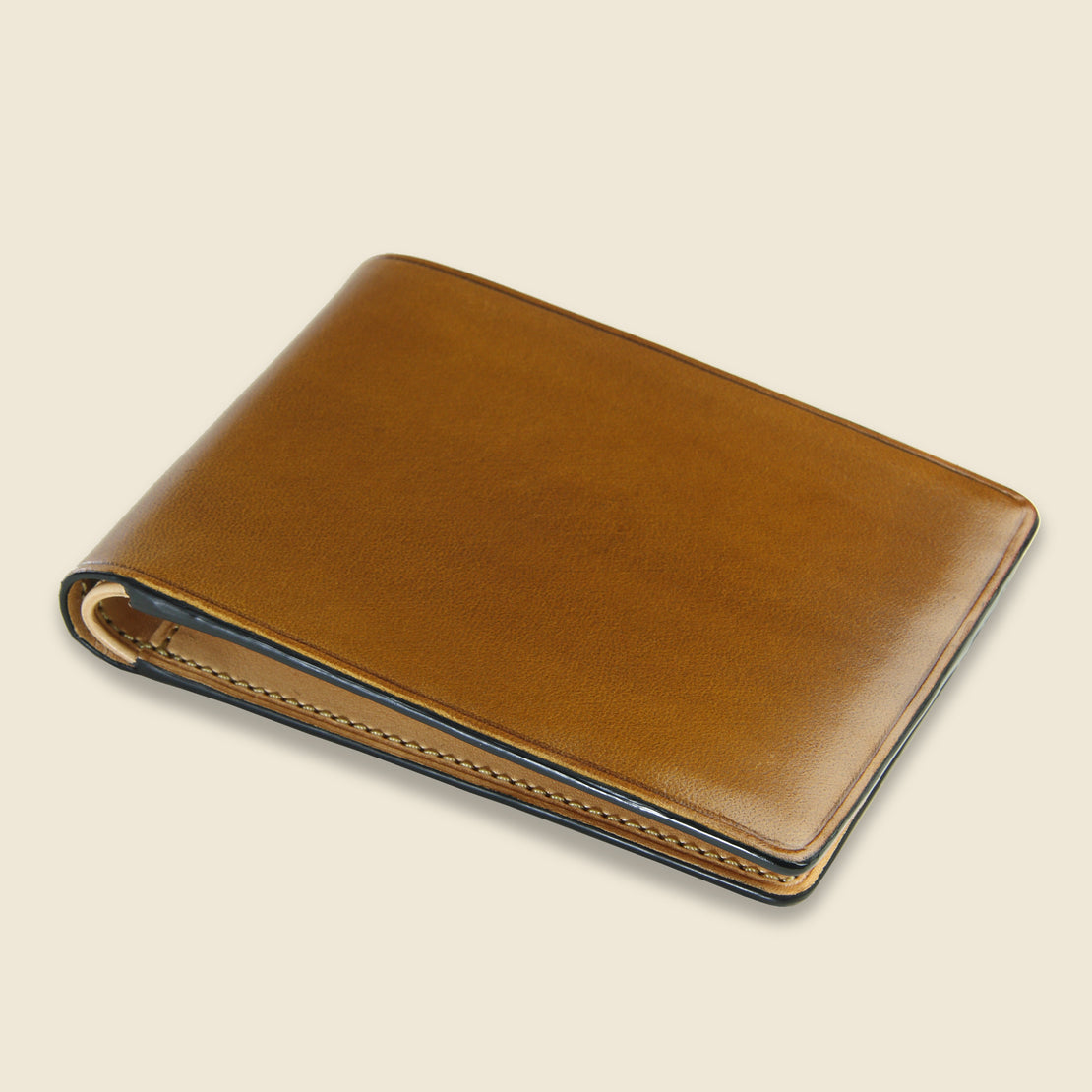 Small Bi-Fold Wallet - Light Brown - Il Bussetto - STAG Provisions - Accessories - Wallets