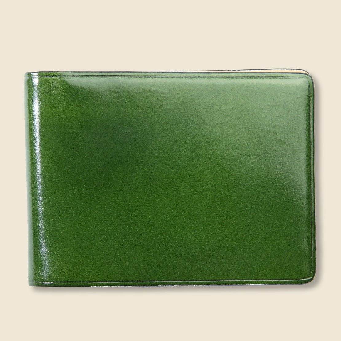 Il Bussetto Small Bi-Fold Wallet - Green