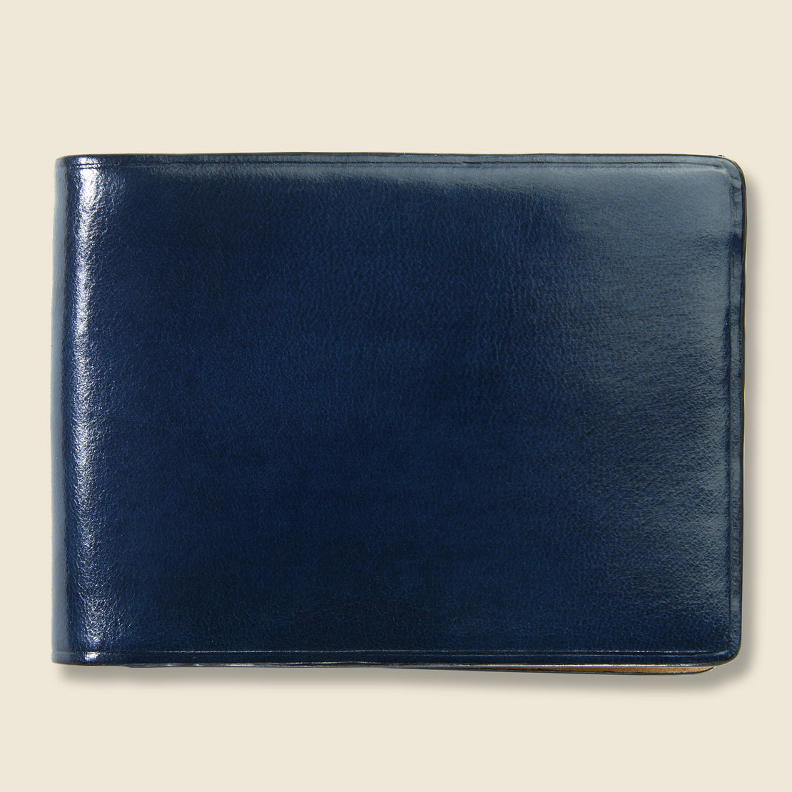 Il Bussetto Small Bi-Fold Wallet - Navy