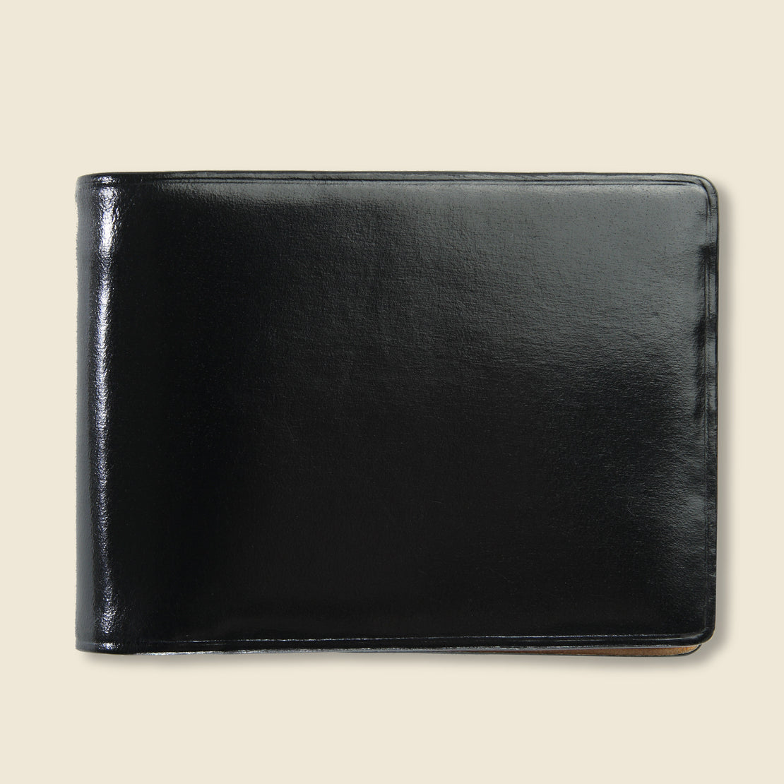 Il Bussetto Small Bi-Fold Wallet - Black