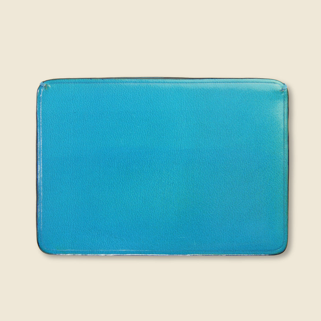 Credit Card Case - Cadet Blue - Il Bussetto - STAG Provisions - Accessories - Wallets
