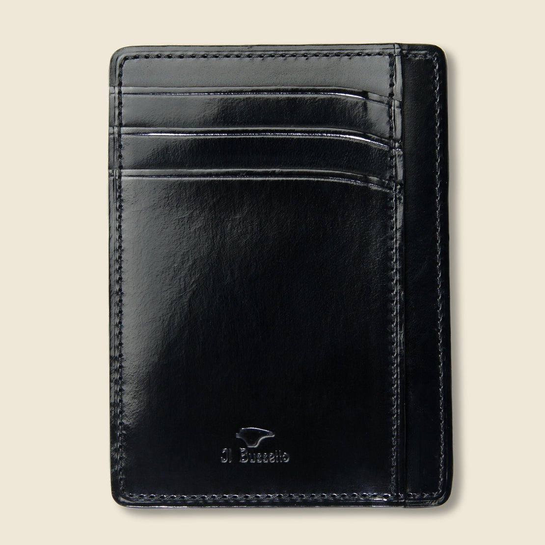 Il Bussetto Card and Document Case - Black