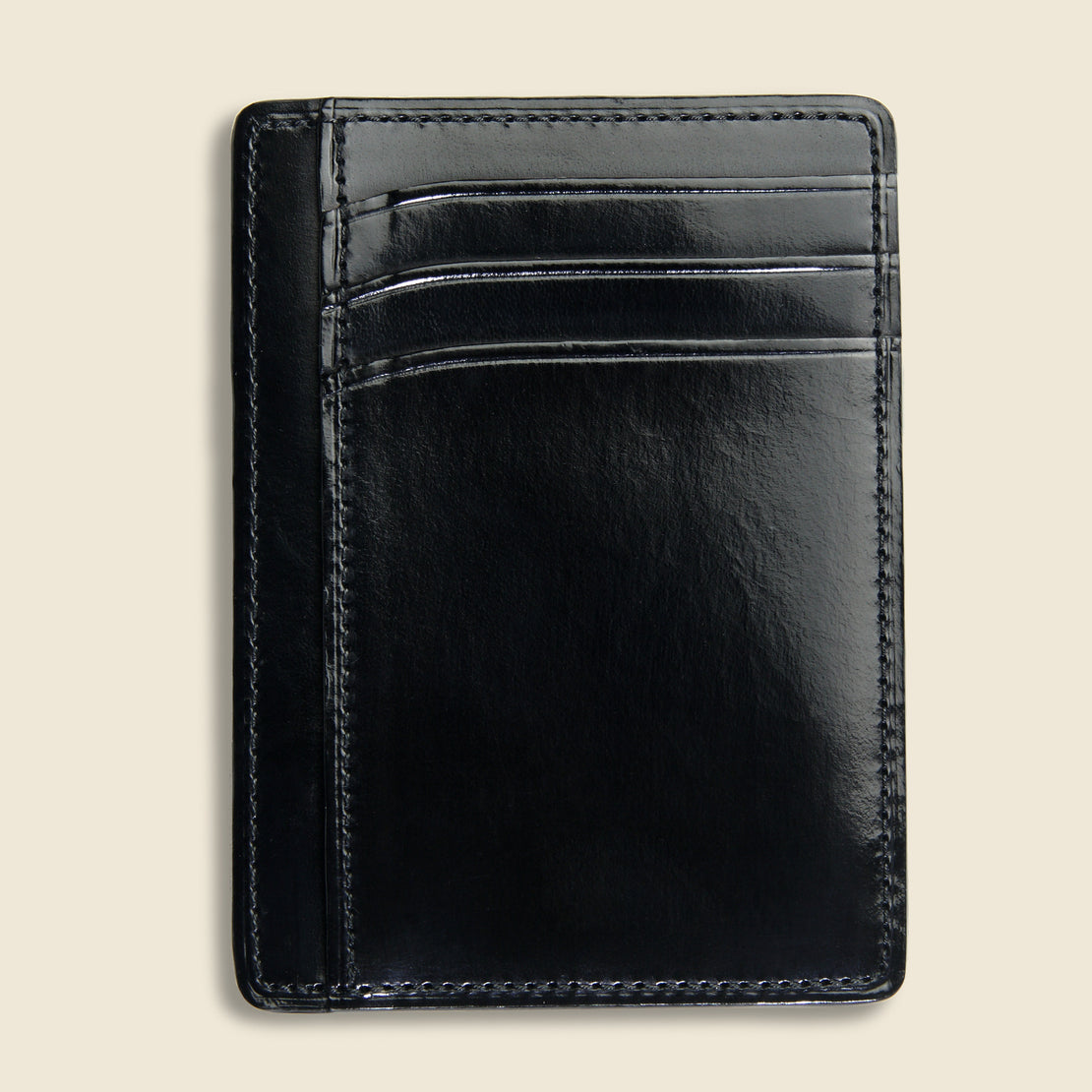 Card and Document Case - Black - Il Bussetto - STAG Provisions - Accessories - Wallets