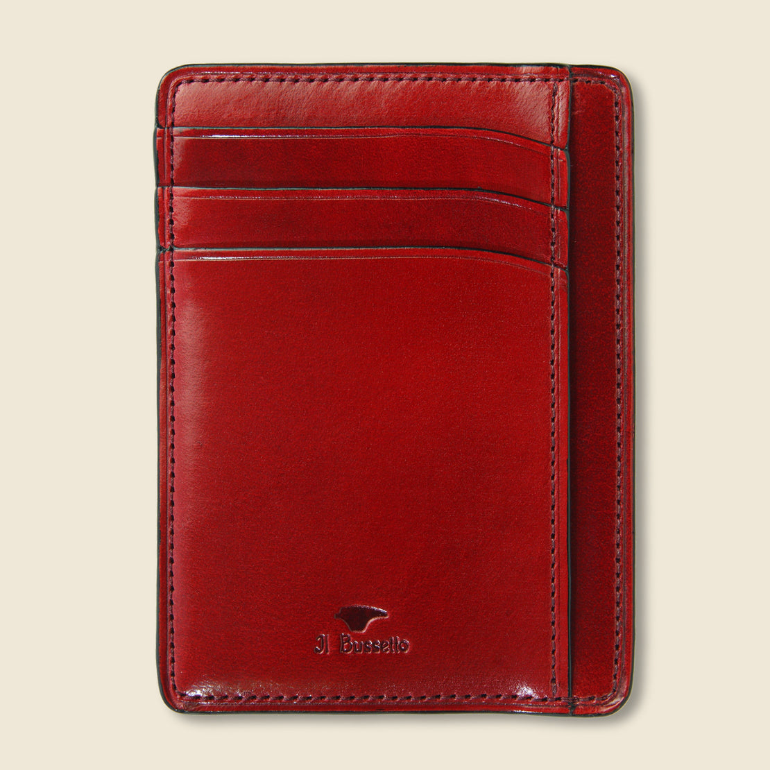 Il Bussetto Card and Document Case - Cherry
