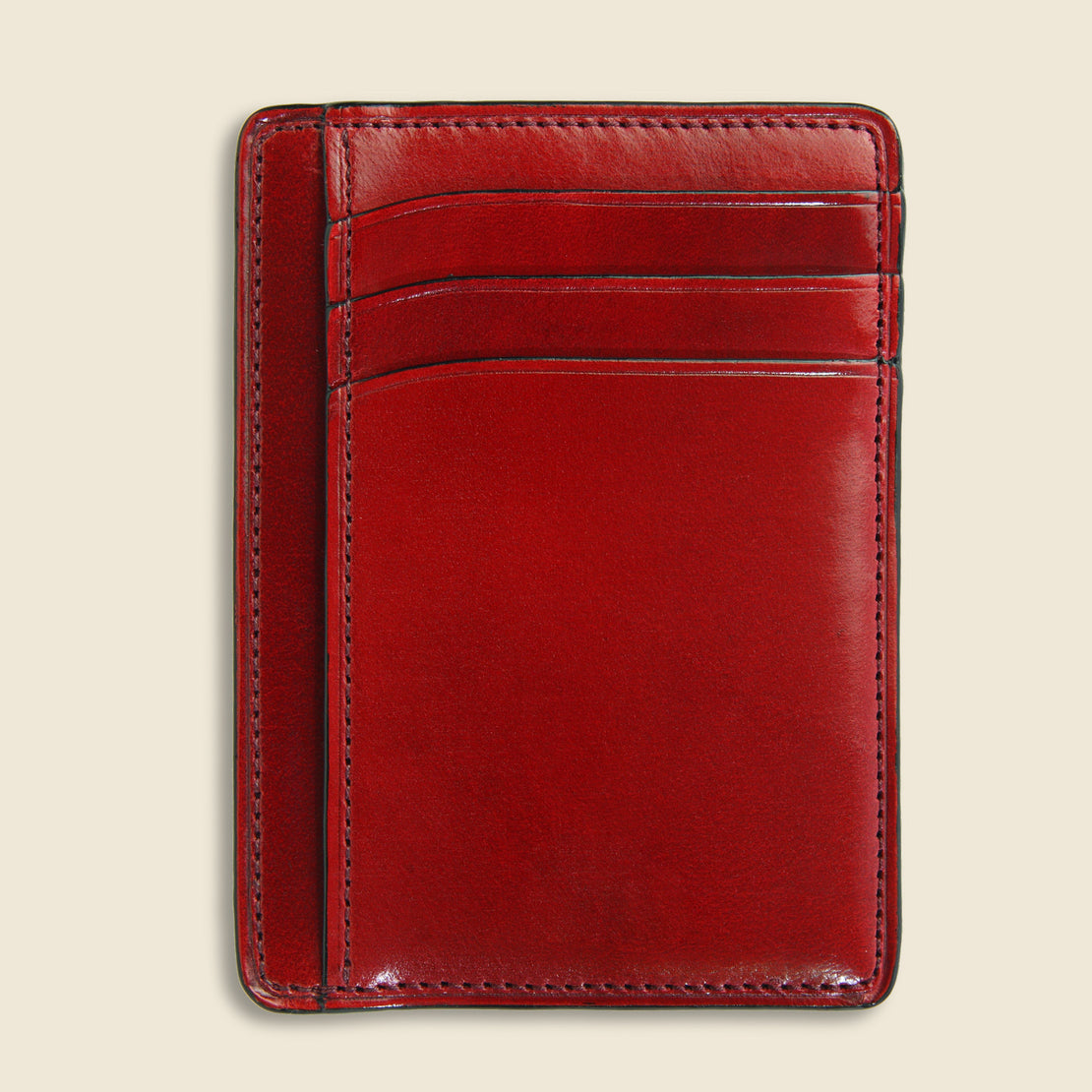 Card and Document Case - Cherry - Il Bussetto - STAG Provisions - Accessories - Wallets