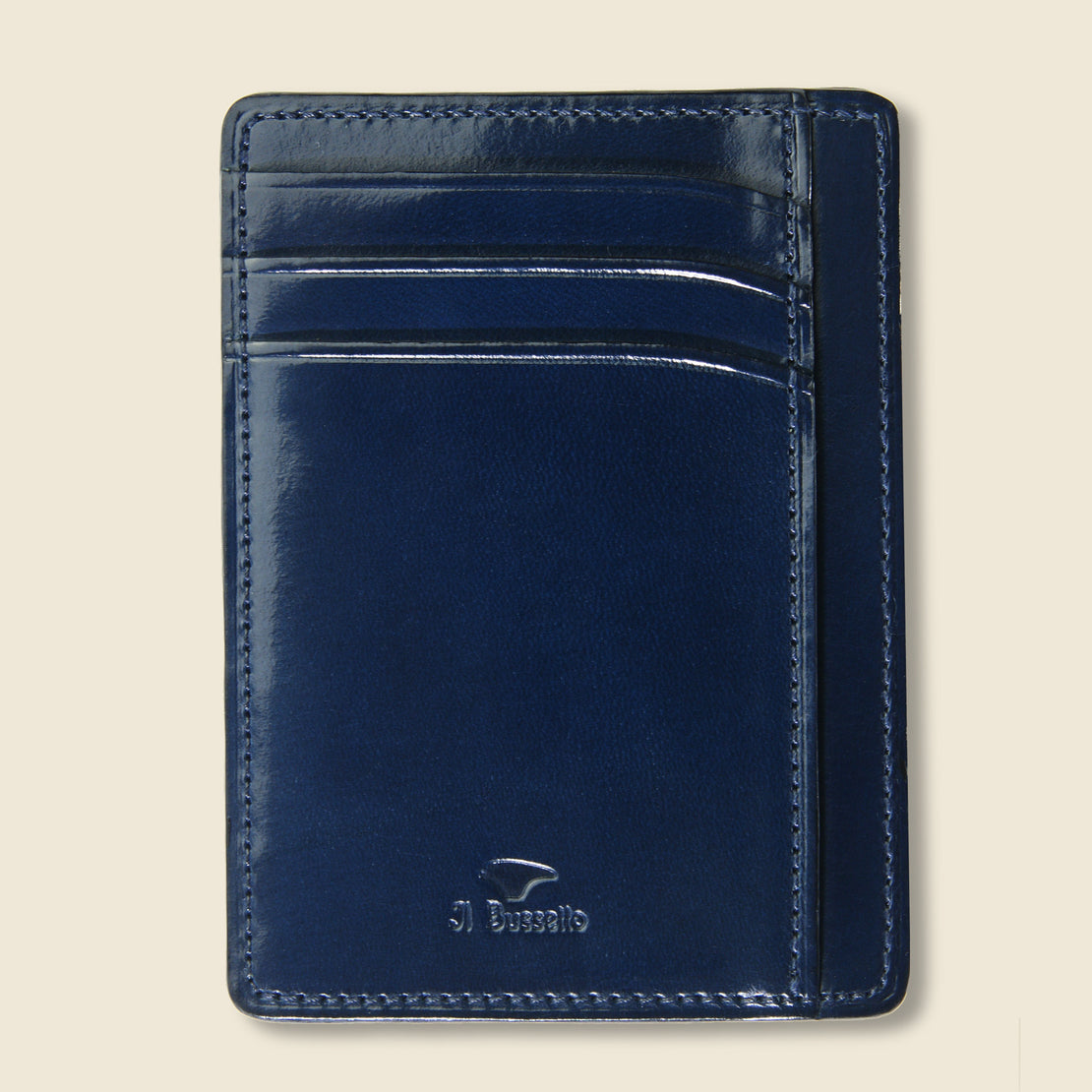 Il Bussetto Card and Document Case - Navy