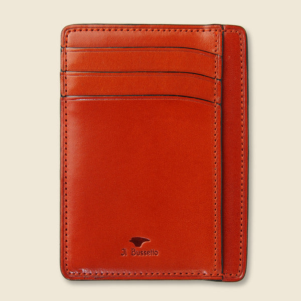 Il Bussetto Card and Document Case - Orange