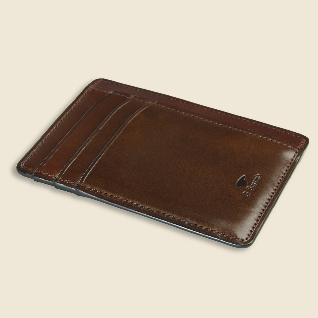 Card and Document Case - Dark Brown