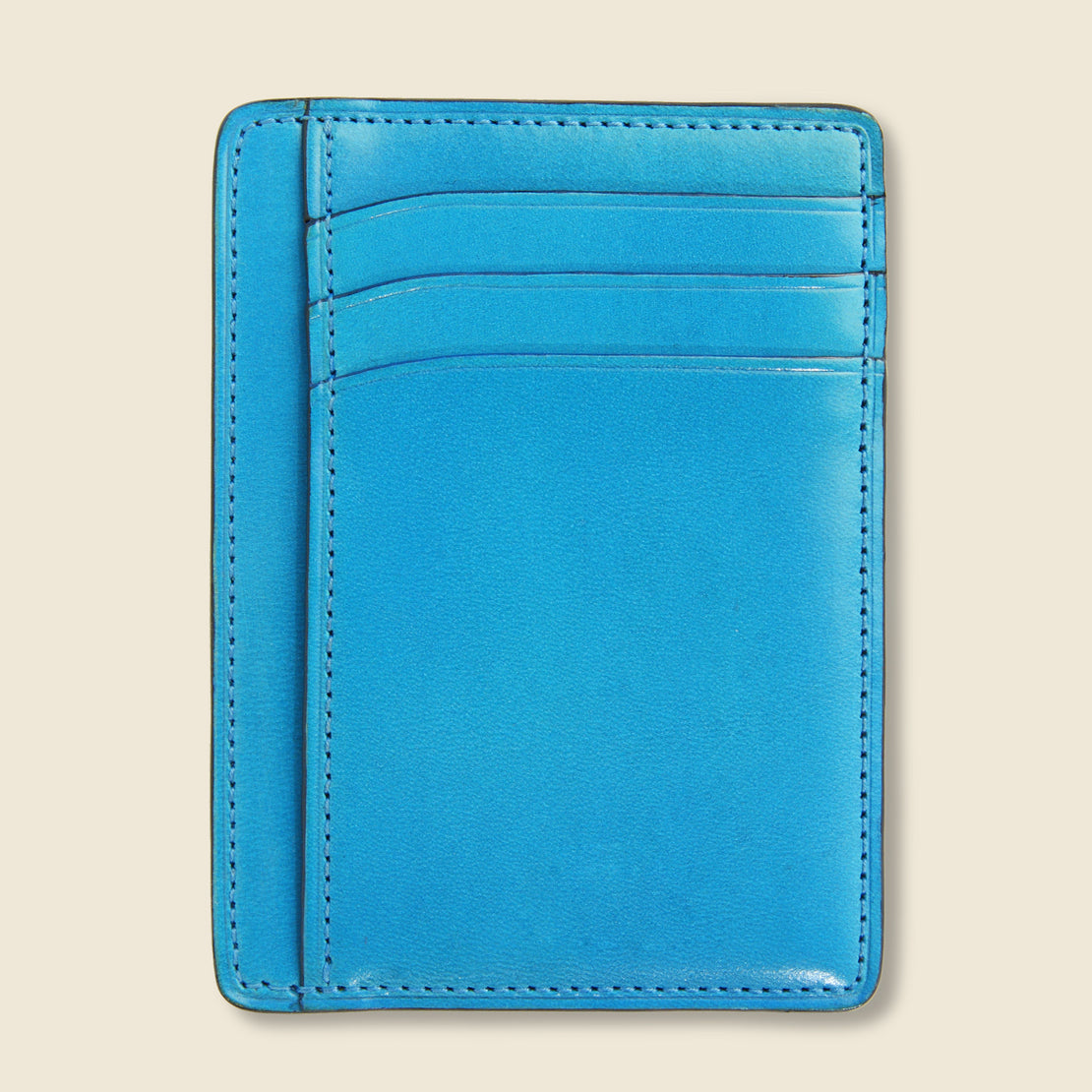 Card and Document Case - Cadet Blue - Il Bussetto - STAG Provisions - Accessories - Wallets