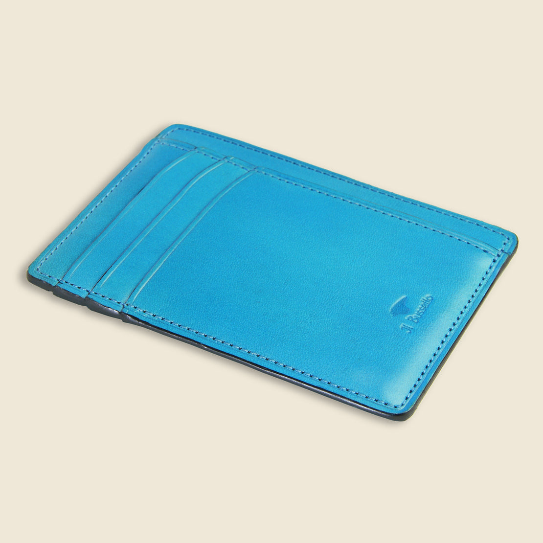 Card and Document Case - Cadet Blue