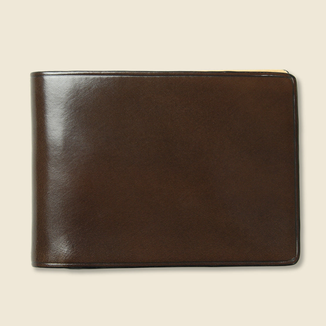 Il Bussetto Small Bi-Fold Wallet - Dark Brown
