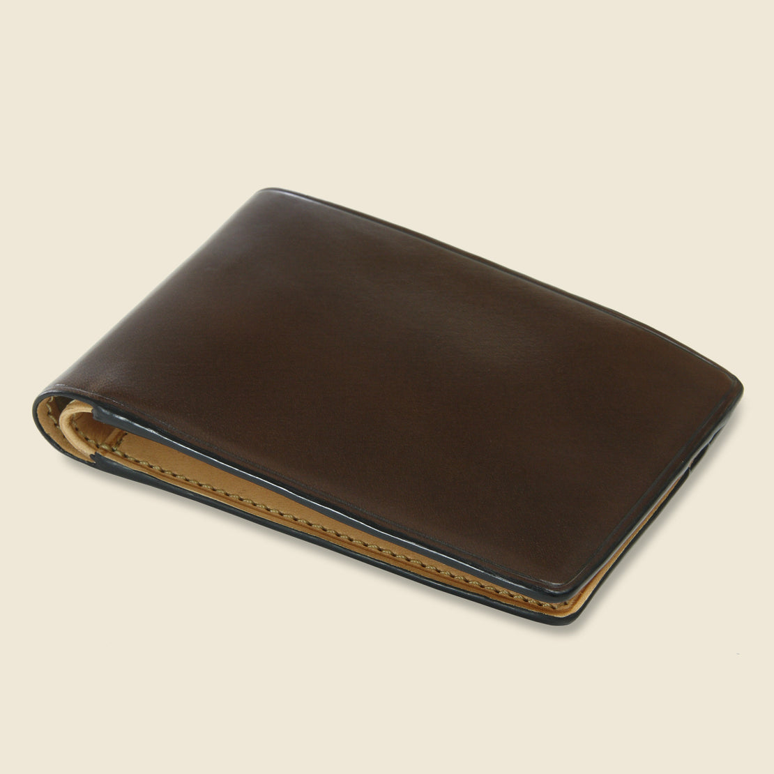 Small Bi-Fold Wallet - Dark Brown - Il Bussetto - STAG Provisions - Accessories - Wallets