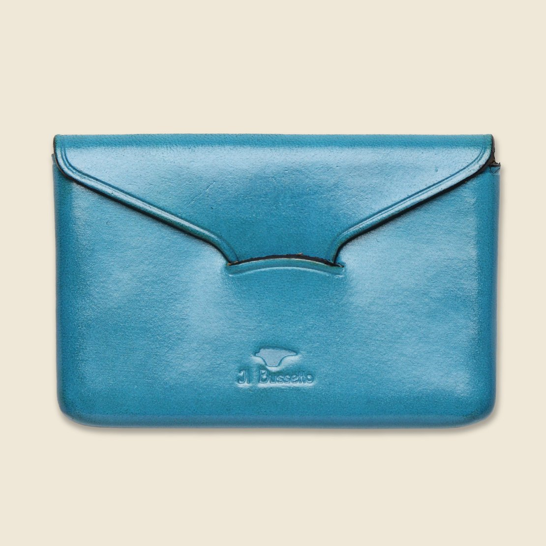 Il Bussetto Business Card Holder - Cadet Blue