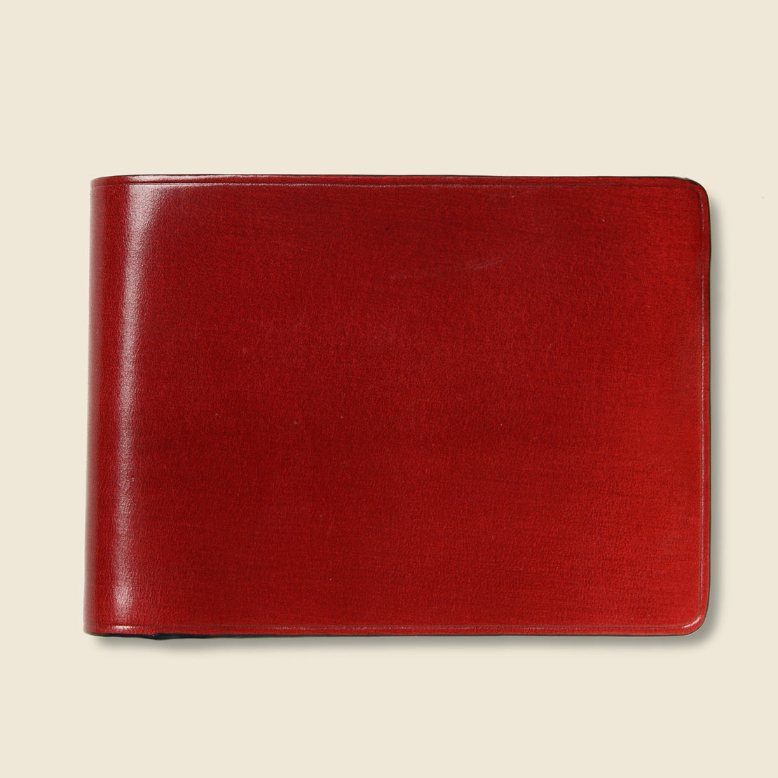 Il Bussetto Small Bi-Fold Wallet - Cherry