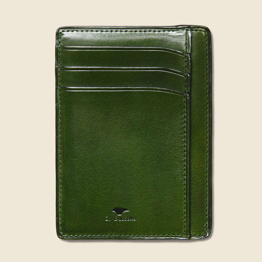 Il Bussetto Card and Document Case - Green