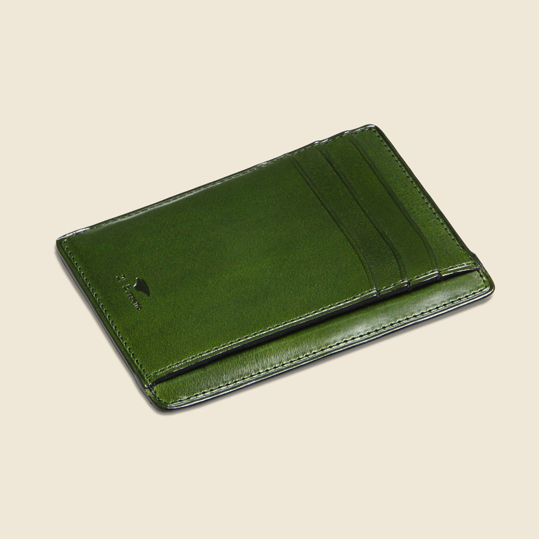 Card and Document Case - Green - Il Bussetto - STAG Provisions - Accessories - Wallets