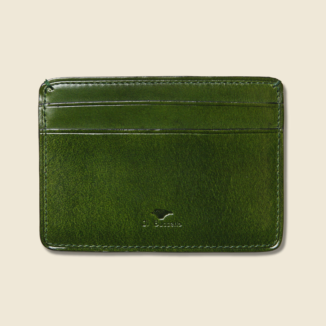 Il Bussetto Credit Card Case - Green