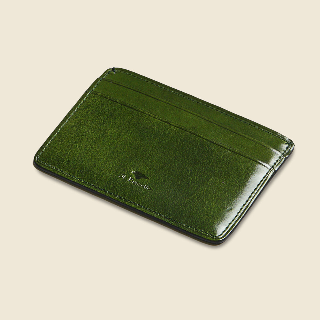 Credit Card Case - Green - Il Bussetto - STAG Provisions - Accessories - Wallets
