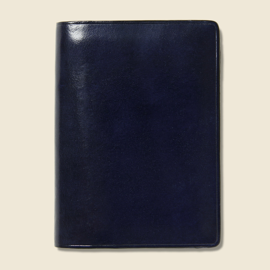 Il Bussetto Bi-Fold Card Case - Navy