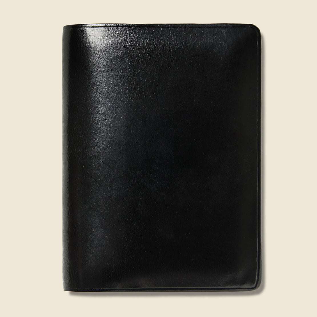 Il Bussetto Bi-Fold Card Case - Black