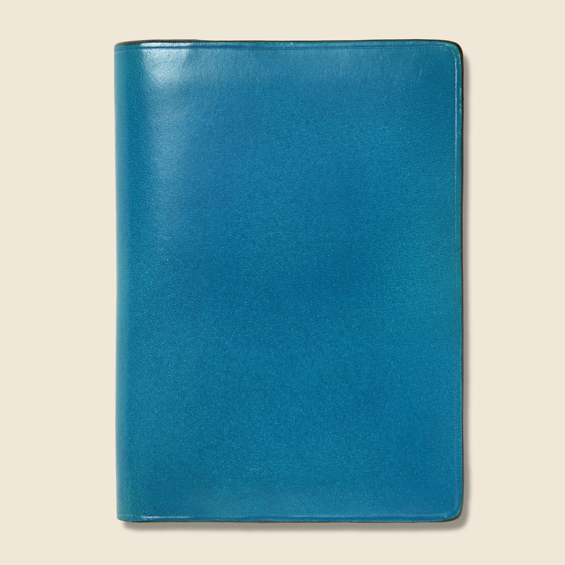 Il Bussetto Bi-Fold Card Case - Cadet Blue