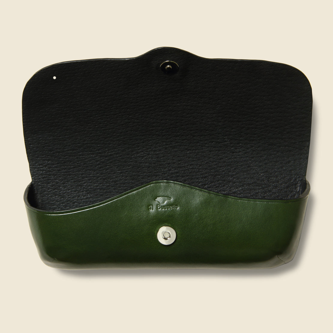 Eyeglass Case - Green - Il Bussetto - STAG Provisions - Accessories - Eyewear