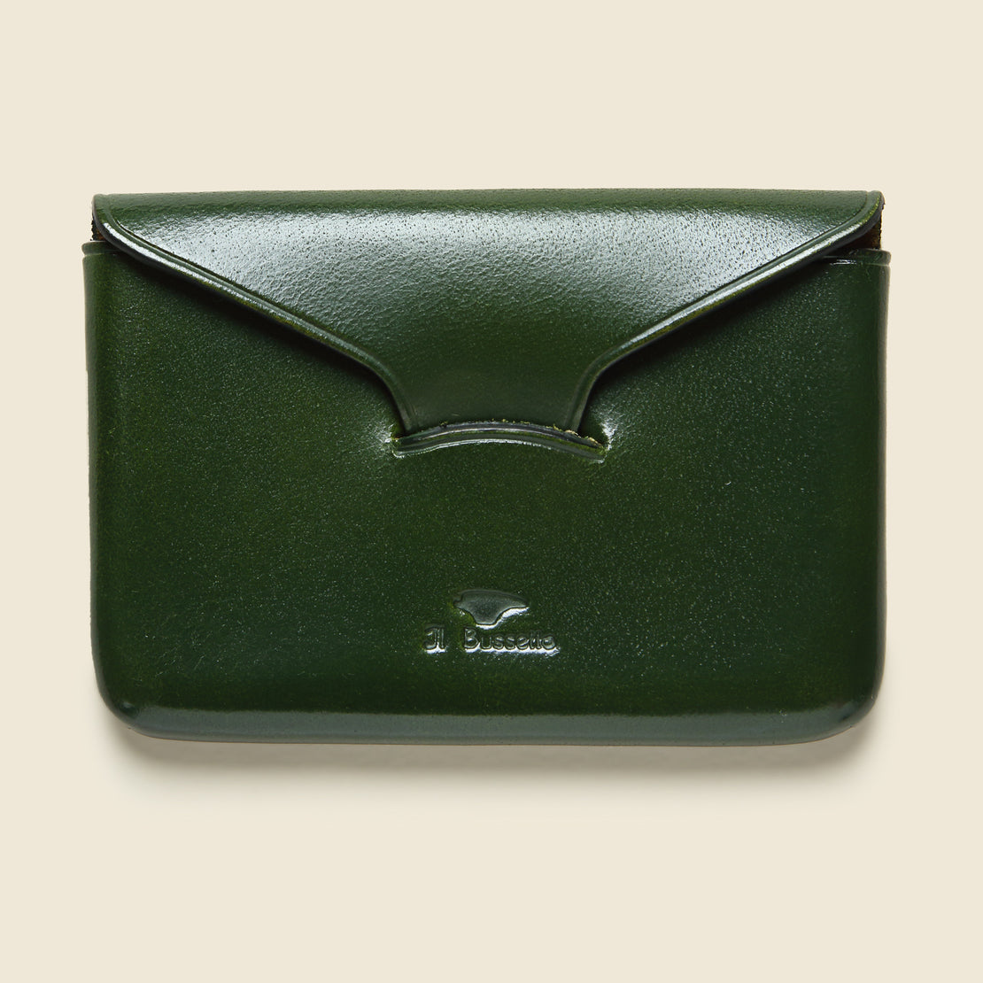 Il Bussetto Business Card Holder - Green
