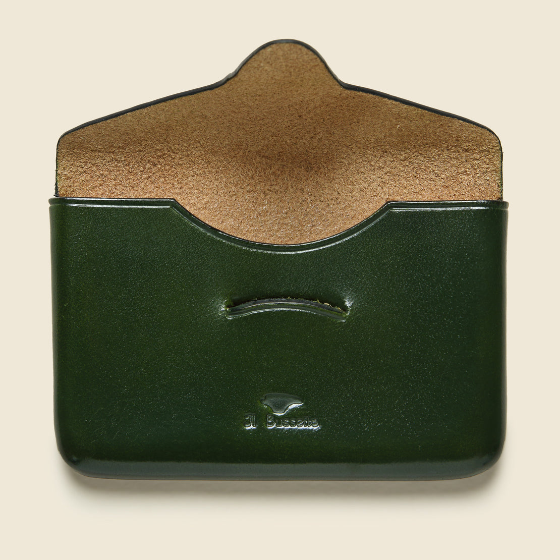 Business Card Holder - Green - Il Bussetto - STAG Provisions - Accessories - Wallets