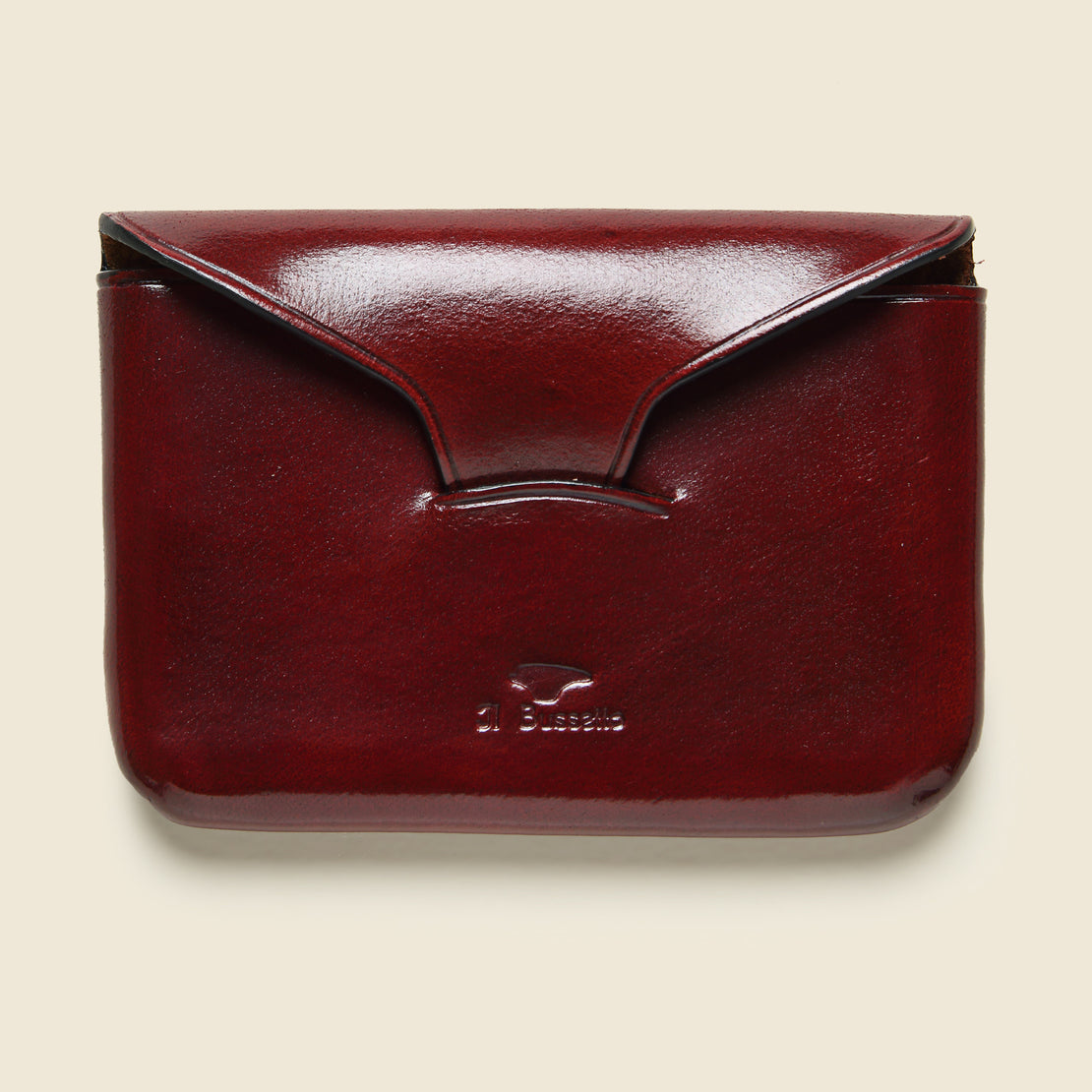 Il Bussetto Business Card Holder - Cherry