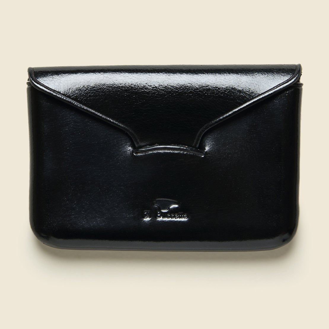 Il Bussetto Business Card Holder - Black