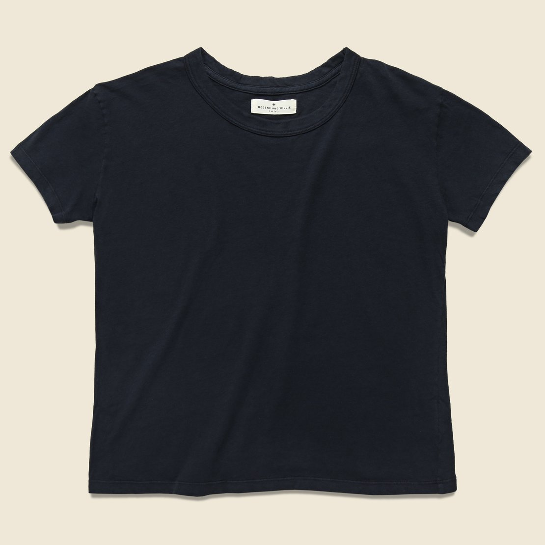 Imogene + Willie Drop Tee - Faded Black