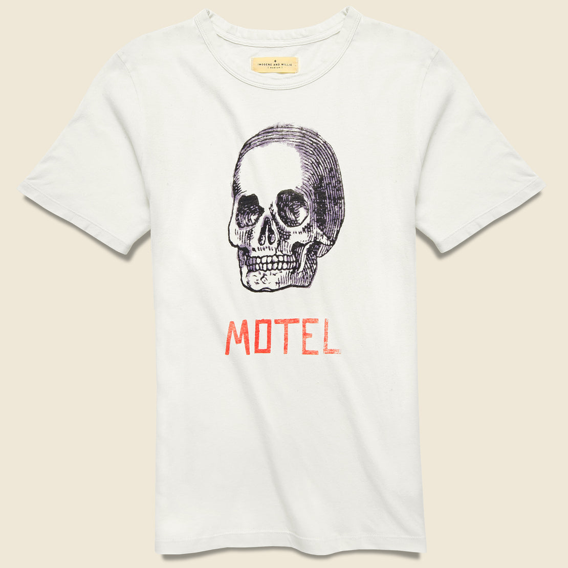 Imogene + Willie Motel Tee - White