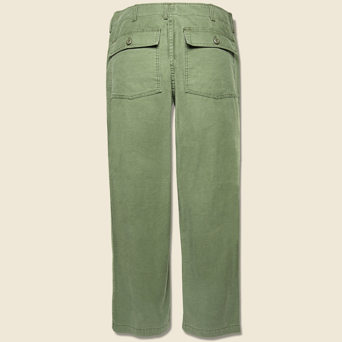 Oliver Military Trouser - Fatigue Green