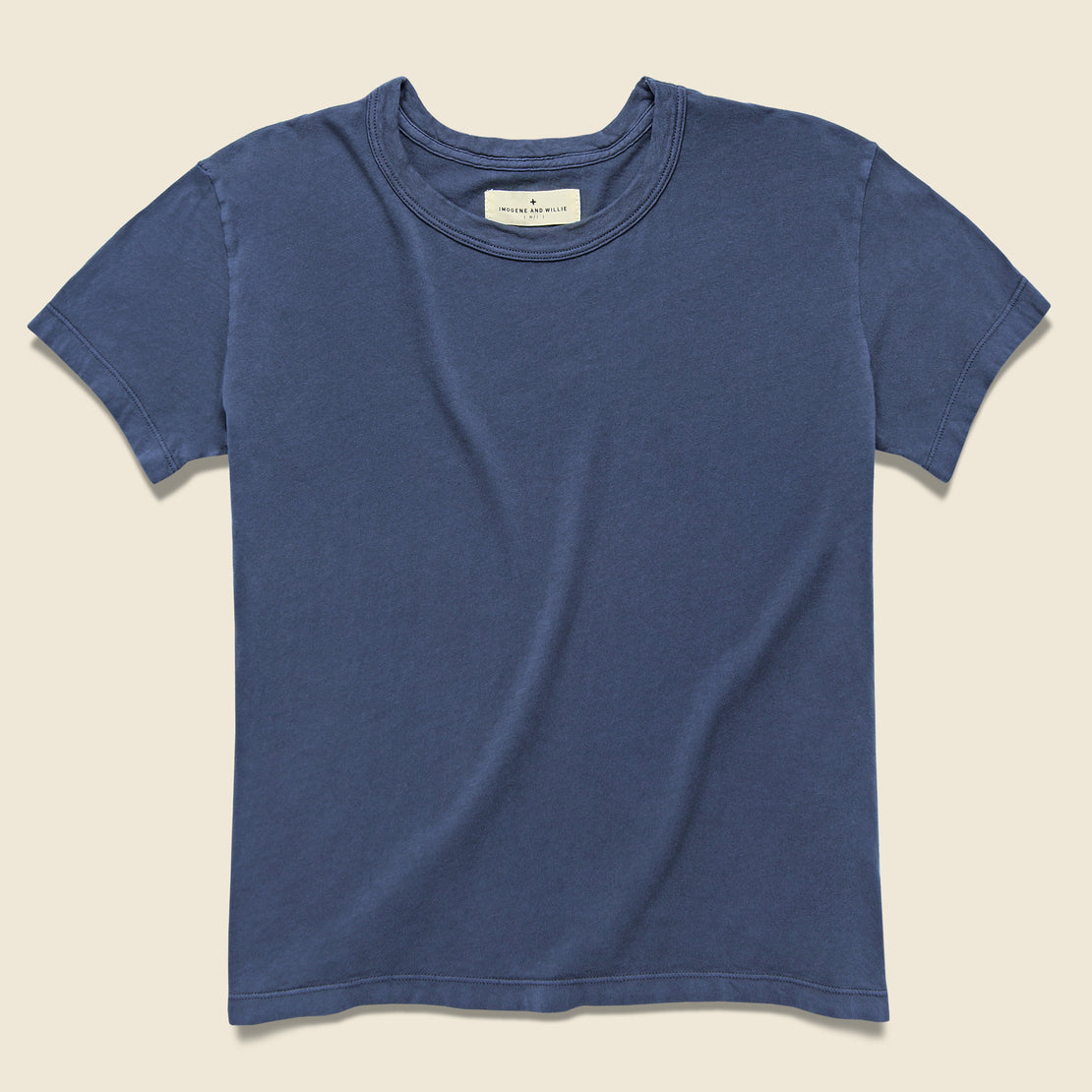 Imogene + Willie Drop Tee - Faded Blue