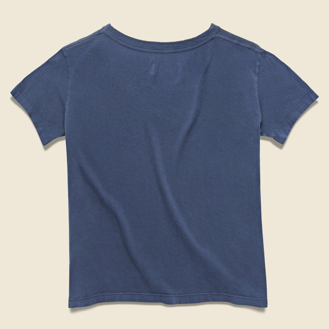 Drop Tee - Faded Blue