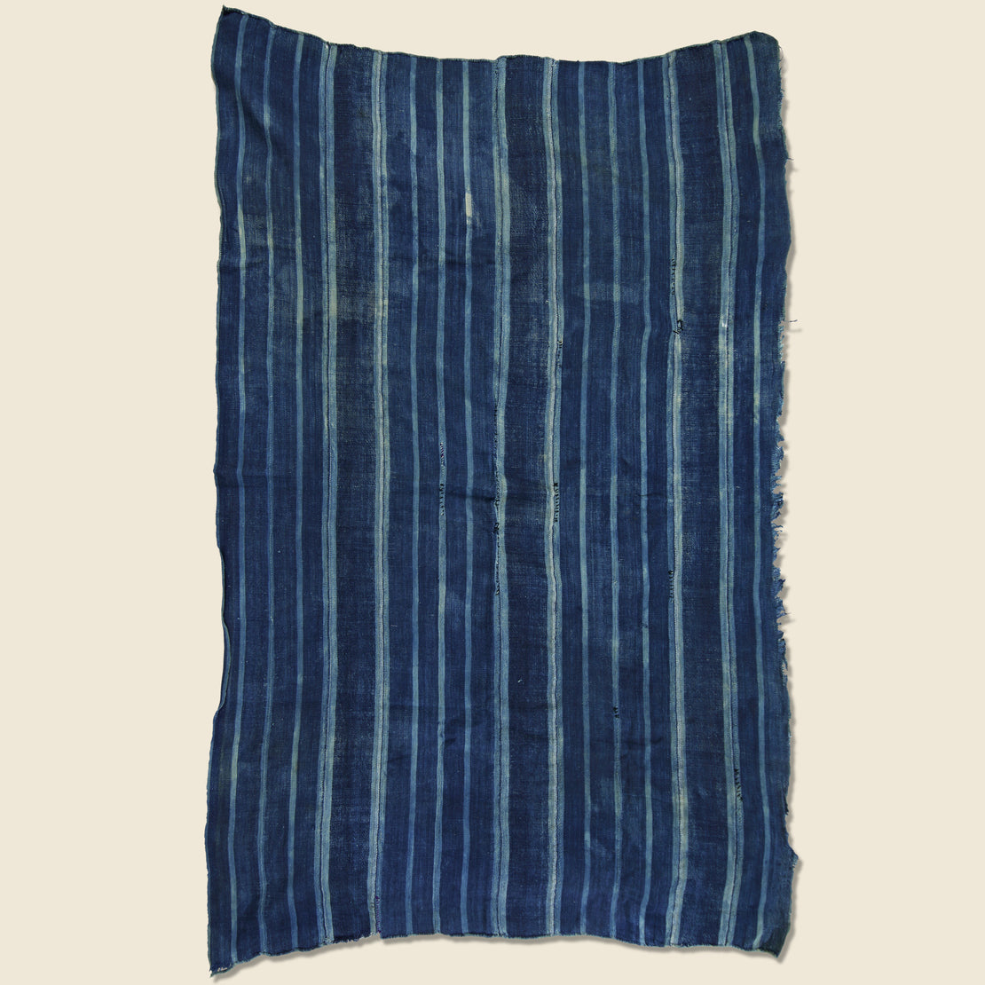 Hand-Woven African Indigo Textile - Vintage - STAG Provisions - One & Done - Blanket