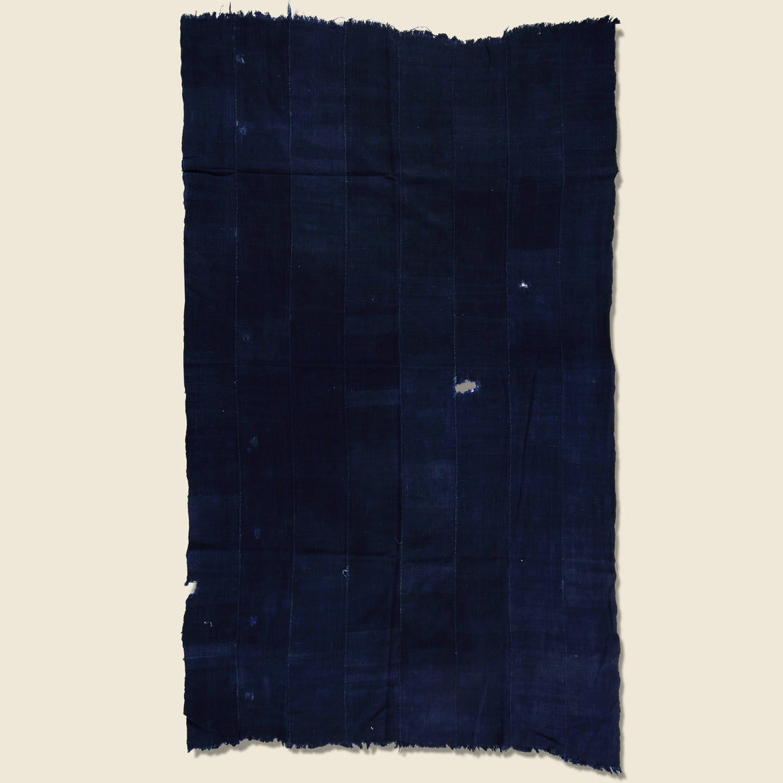 Hand Woven African Indigo Textile - Vintage - STAG Provisions - One & Done - Blanket