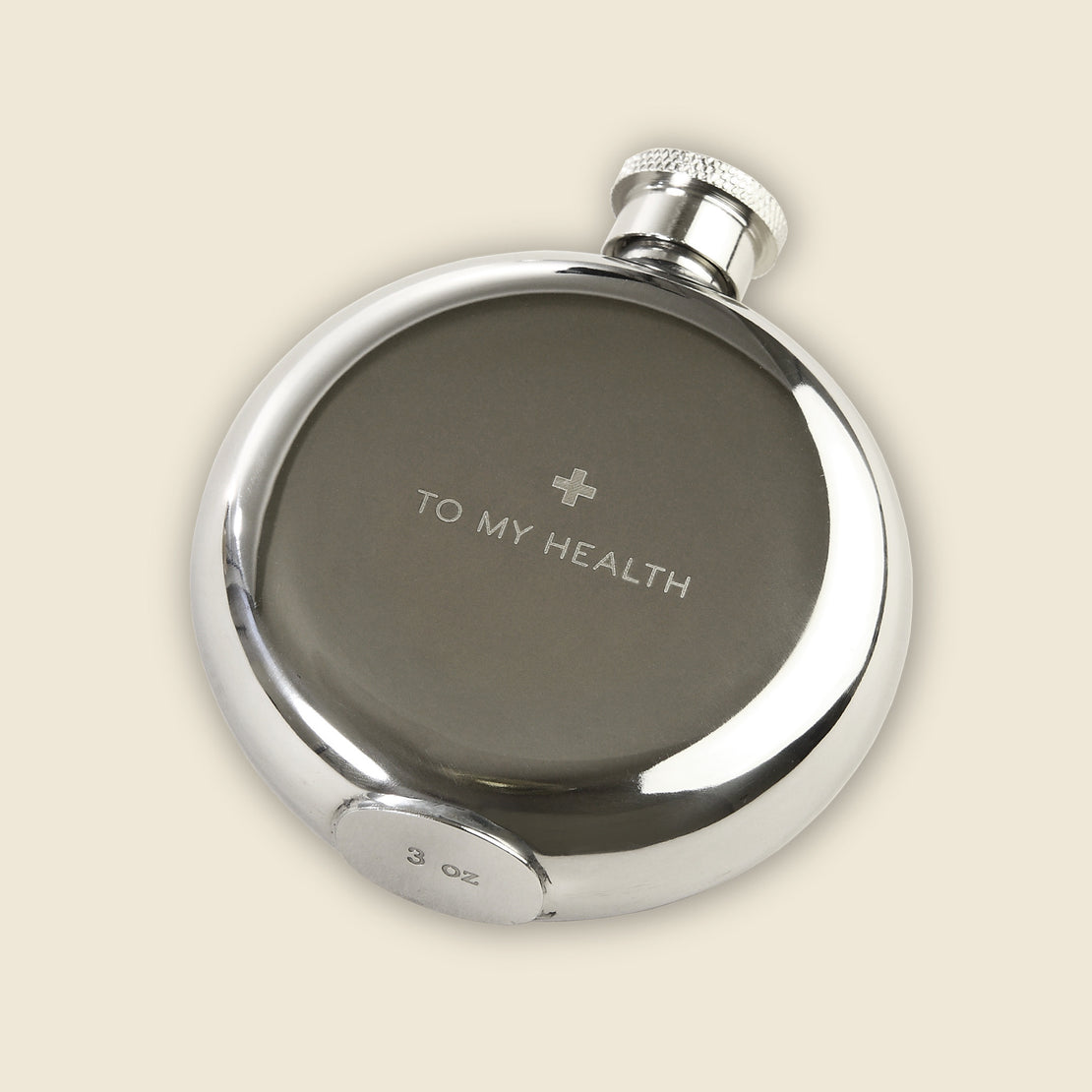 "Barware ""To My Health"" Flask - 3oz"