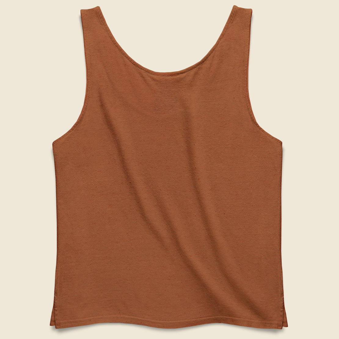 Cropped Tank - Terracotta