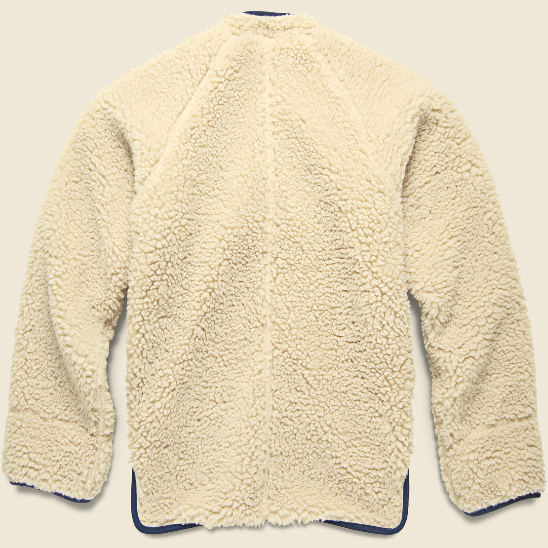 Makani Boa Fleece Jacket - Ecru