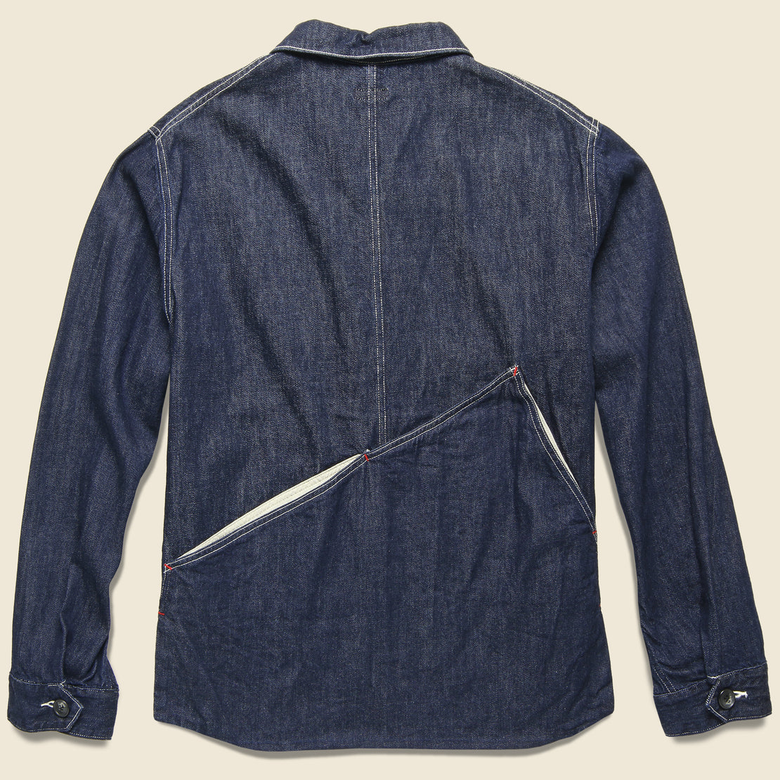 Denim Ringoman Coverall Jacket - Indigo