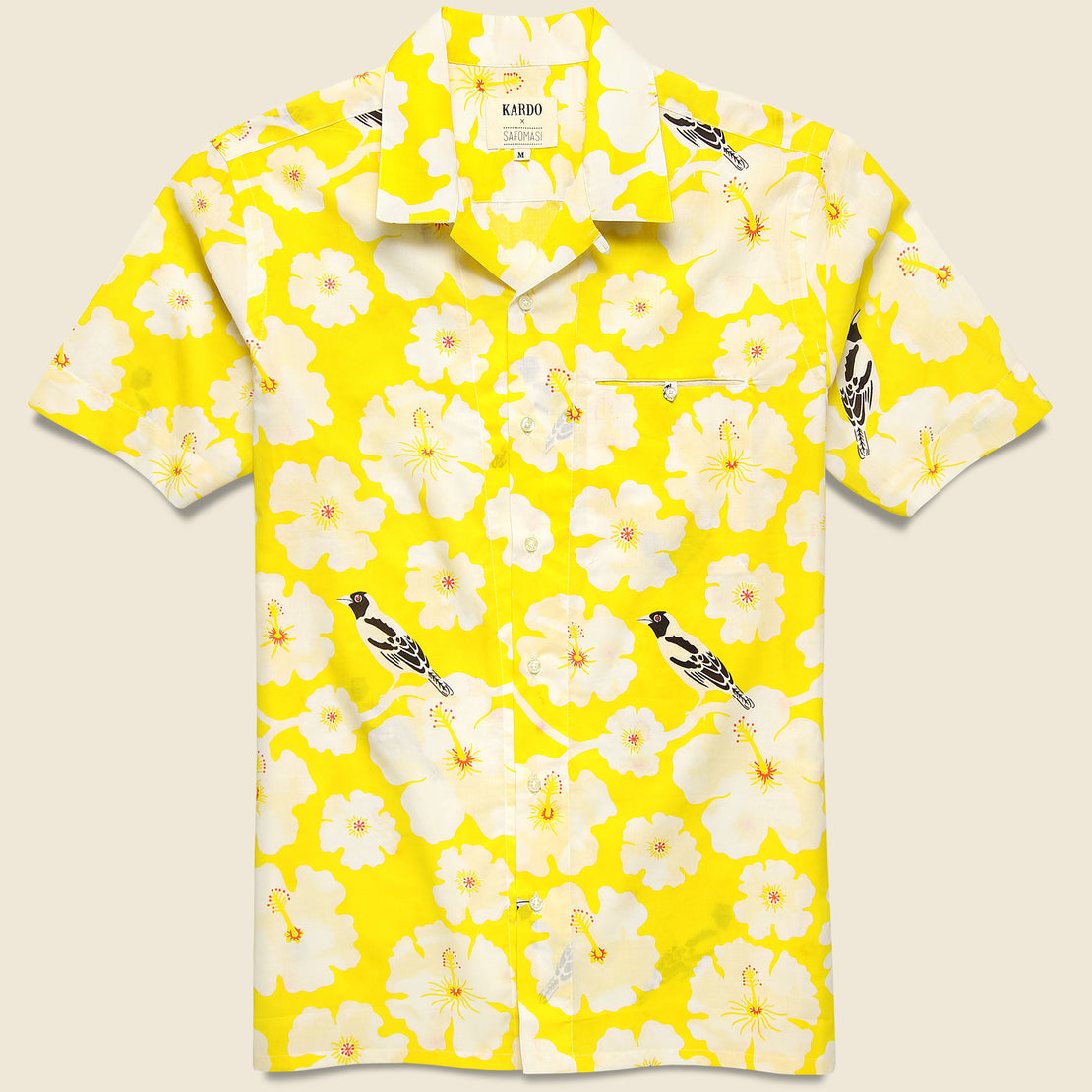 Kardo Kendrick Shirt - Yellow