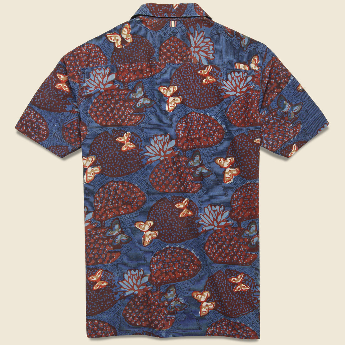 Kendrick Shirt - Navy/Red Floral